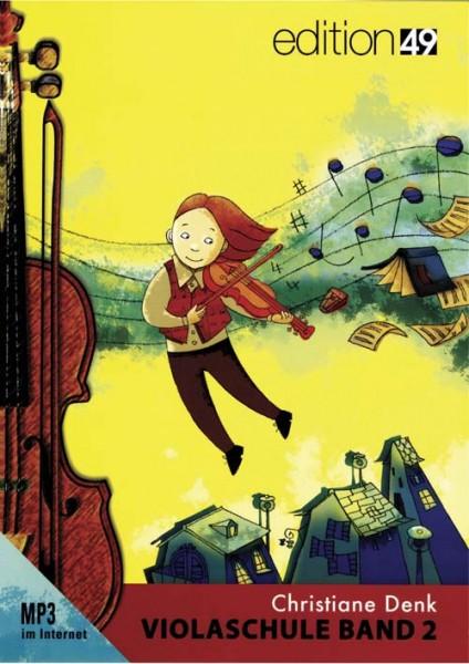 Violaschule Band 2 von Christiane Denk für Anfänger mit Play along MP3