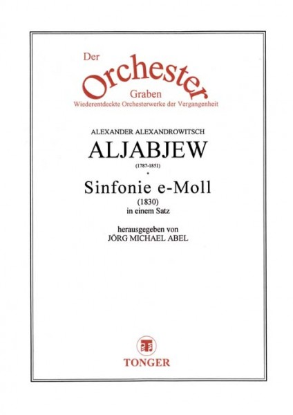 Sinfonie e-Moll (1830)