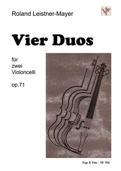 Vier Duos op. 71