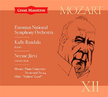 GREAT MAESTROS XII Kalle Randalu Estonian National Symphony Orchestra Neeme Järvi CD