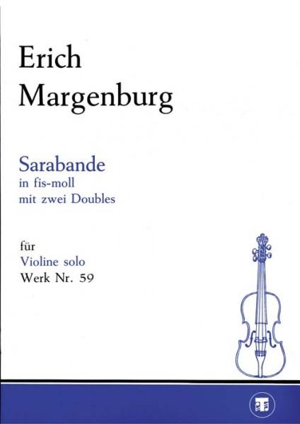 Sarabande in fis-moll mit zwei Doubles