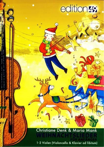 Weihnachtslieder für Anfänger (für Viola)