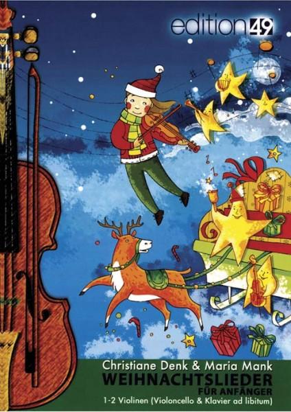 Weihnachtslieder für Anfänger (34 Lieder)
