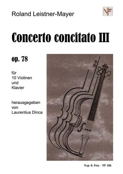 Concerto concitato III op. 78