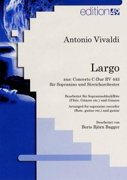 Largo aus Konzert C-Dur RV 443 für Sopranino (Blockflöte) und Streichorchester