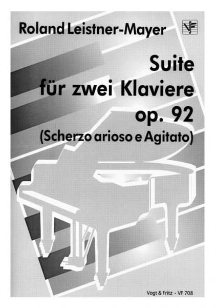 Suite für zwei Klaviere op. 92