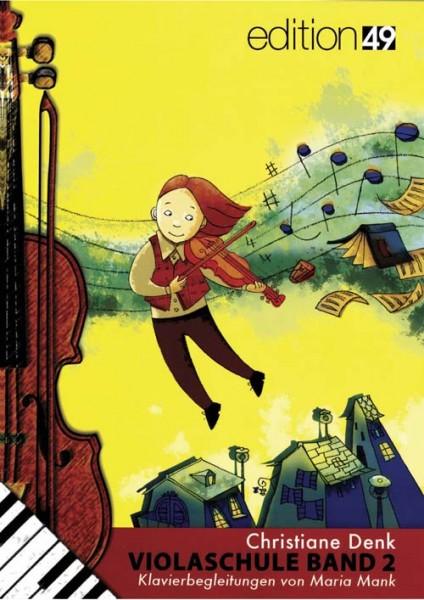 Christiane Denk Violaschule Band 2 Klavierbegleitheft