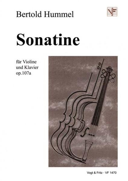 Sonatine für Violine und Klavier op. 107a