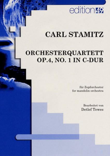Orchesterquartett op.4, No. 1 in C-Dur