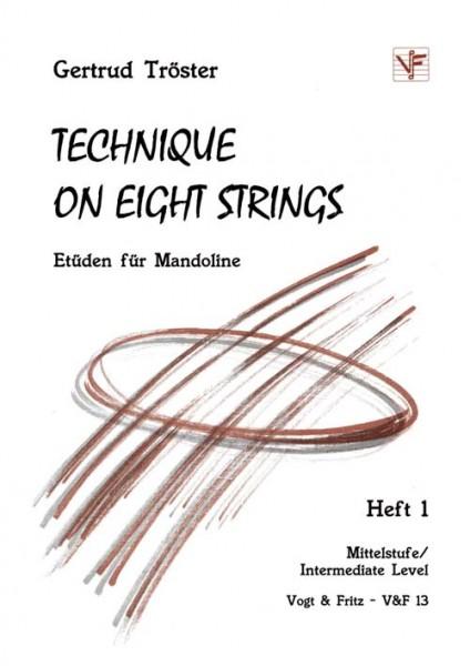 Technique on Eight Strings, Band 1, Etüden für Mandoline