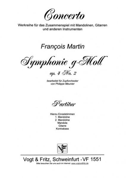 Symphonie g-Moll op. 4 Nr. 2