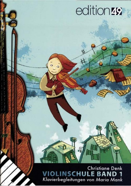 Klavierbegleitheft zur Violinschule Band 1 von Christiane Denk