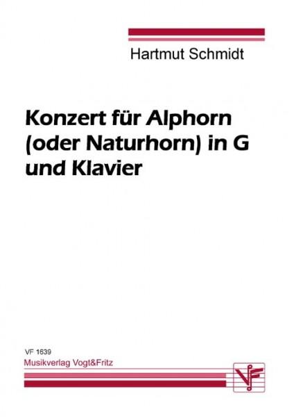 Konzert für Alphorn (oder Naturhorn) in G und Klavier