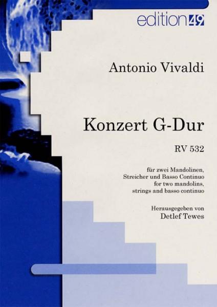 Konzert G-Dur RV 532 für 2 Mandolinen, Streicher und B.C.