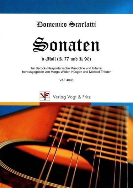 Sonaten d-Moll (K 77 und K 90)