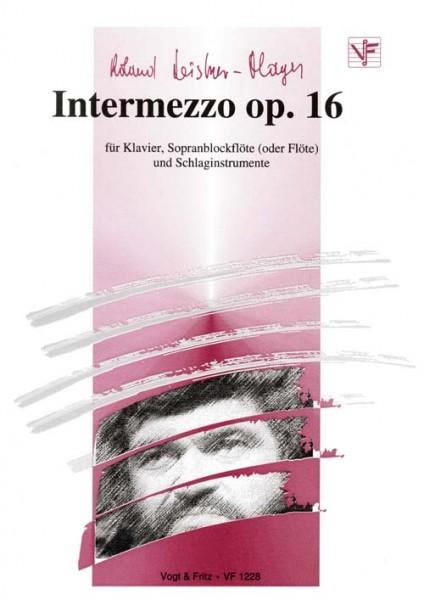 Intermezzo op. 16