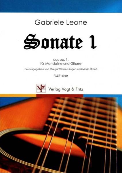 Sonate 1 op. 1