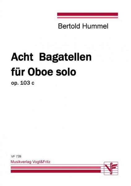 Acht Bagatellen für Oboe solo