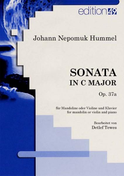 Sonata in C Major, op. 37a