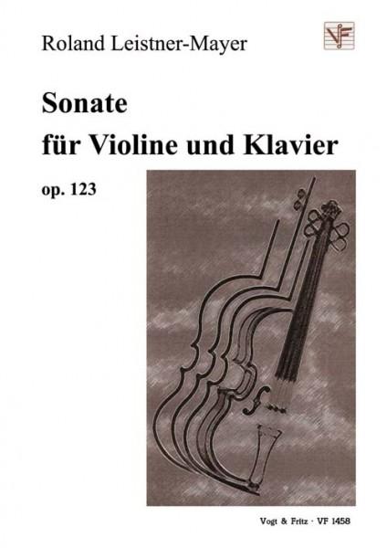 Sonate für Violine und Klavier op. 123
