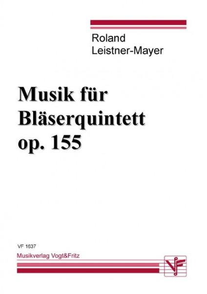 Musik für Bläserquintett op. 155