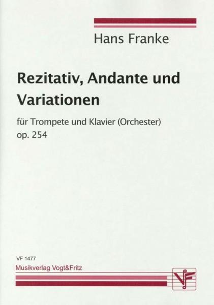 Rezitativ, Andante und Variationen