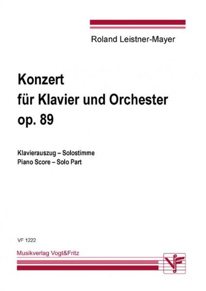 Konzert für Klavier und Orchester op. 89