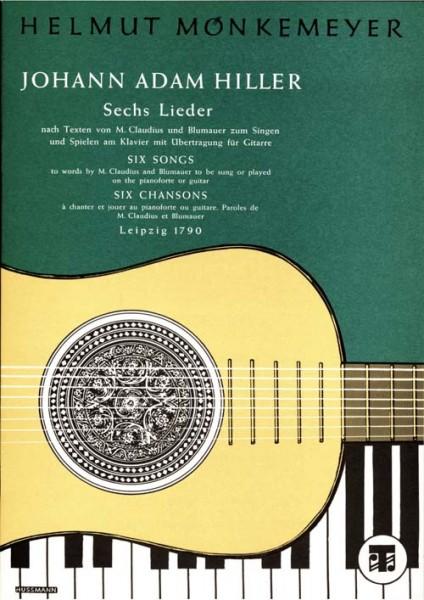 Sechs Lieder