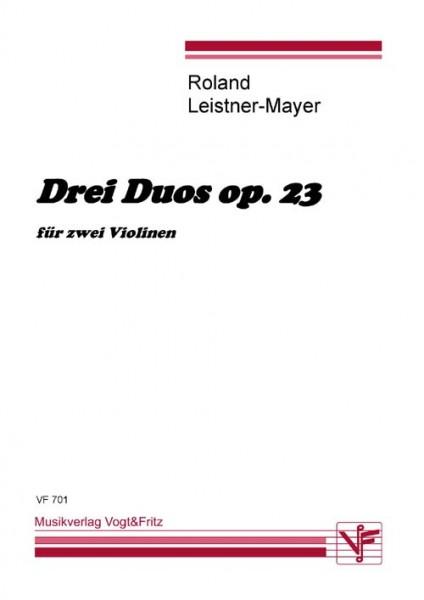 Drei Duos op. 23