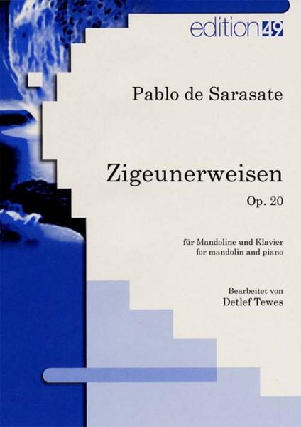 Zigeunerweisen op. 20 für Mandoline und Klavier