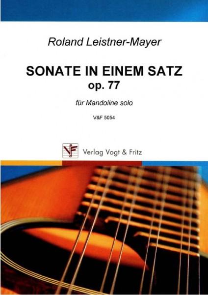 Sonate in einem Satz, op. 77