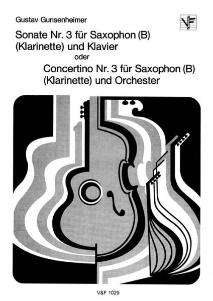 Sonate Nr. 3 oder Concertino Nr. 3