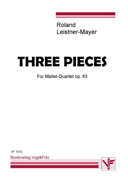 Three Pieces op. 63