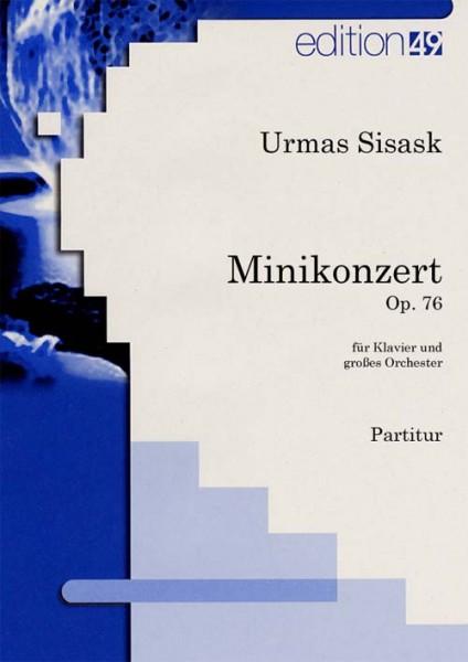 Minikonzert für Klavier und Sinfonieorchester op. 76a / Minikontsert klaverile ja sümfooniaorkestril
