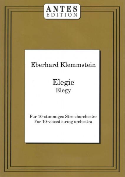 Elegie für 10-stimmiges Streichorchester