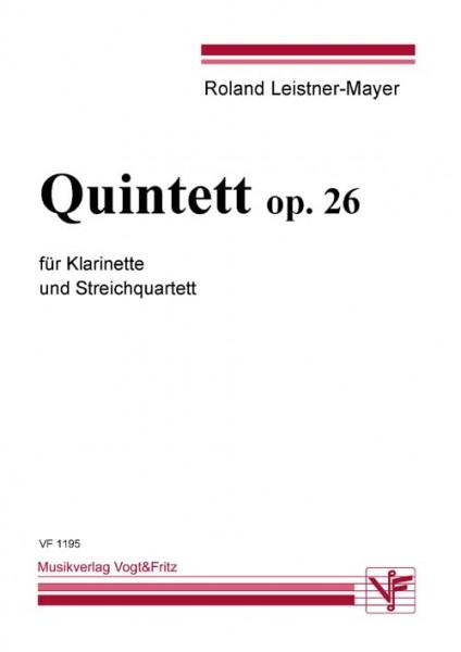 Quintett op. 26