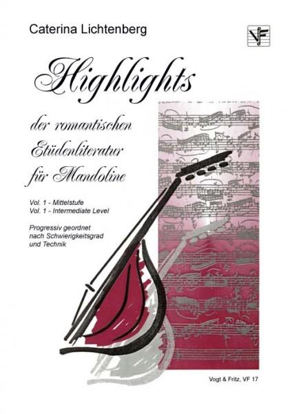 Highlights der romantischen Etüdenliteratur für Mandoline