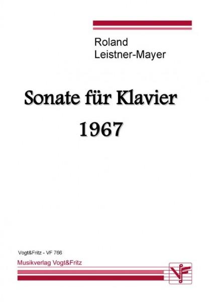 Sonate für Klavier 1967
