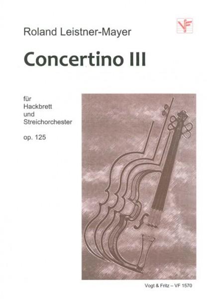 Concertino III, op. 125